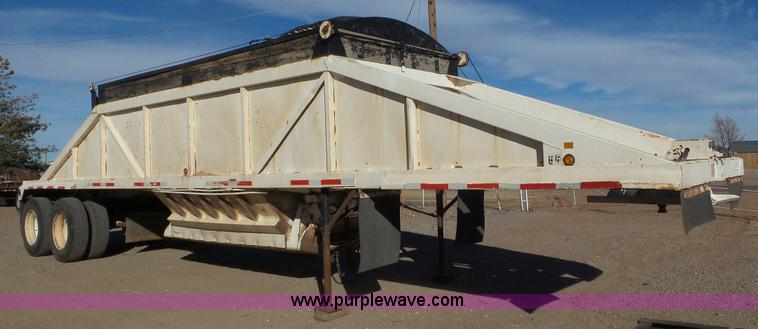 1985 Ranch bottom dump trailer