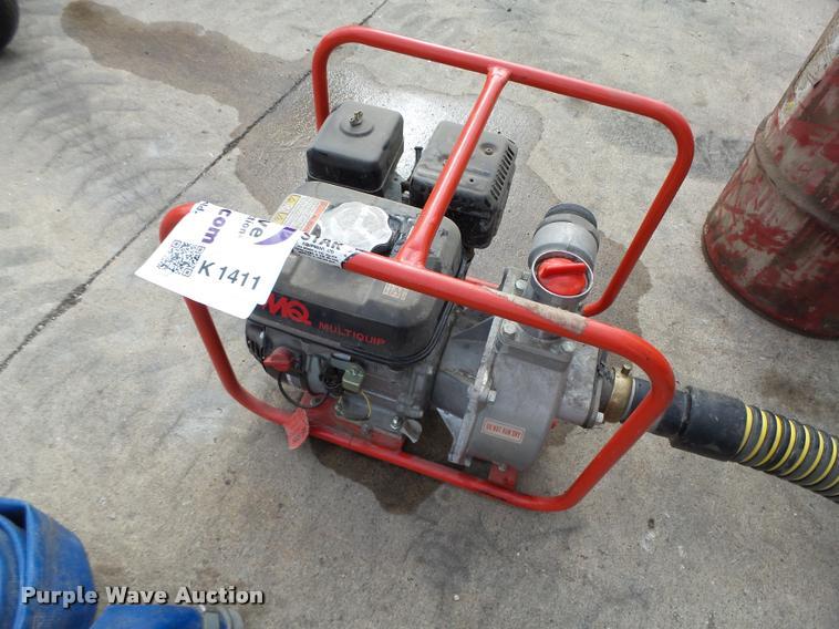 Multi Quip QP202 water pump