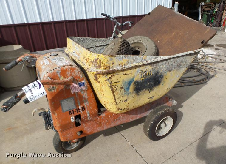 Lull M15B concrete buggy