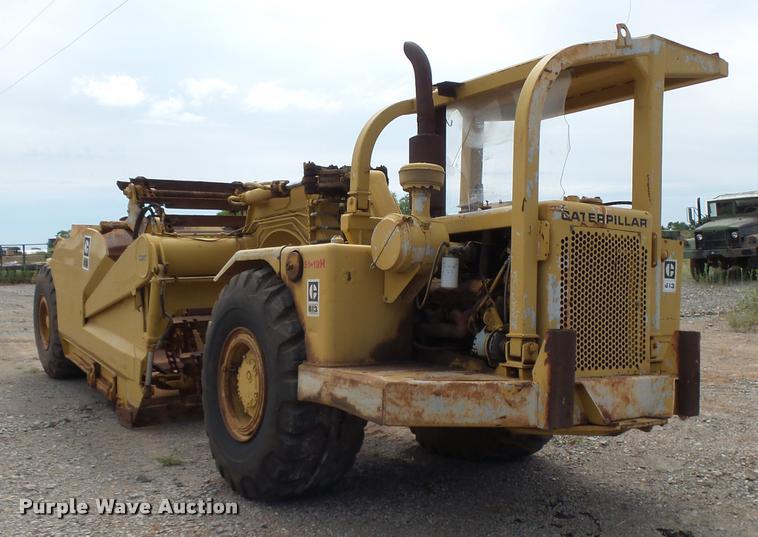 1973 Caterpillar 613 elevating scraper