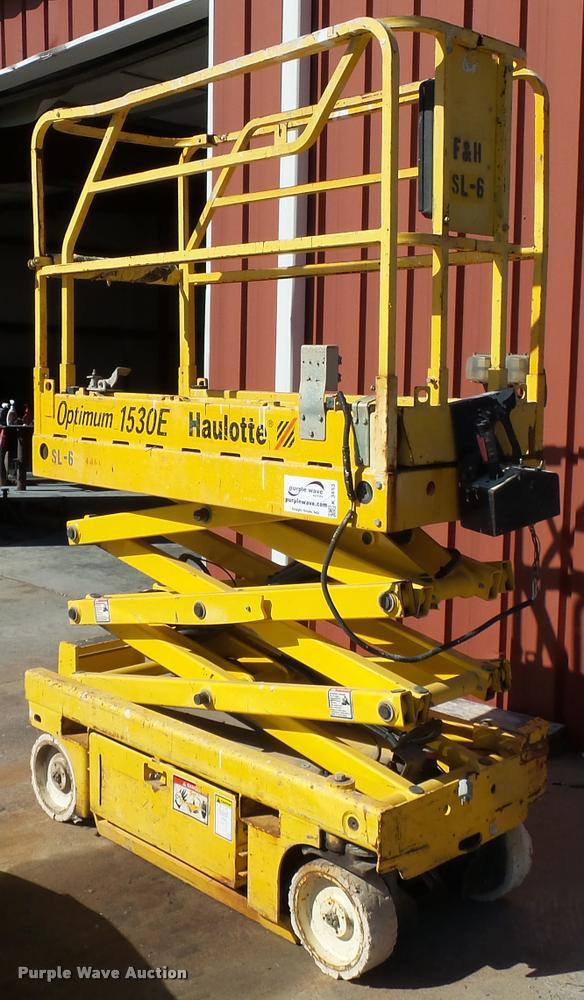 Haulotte 1530E scissor lift