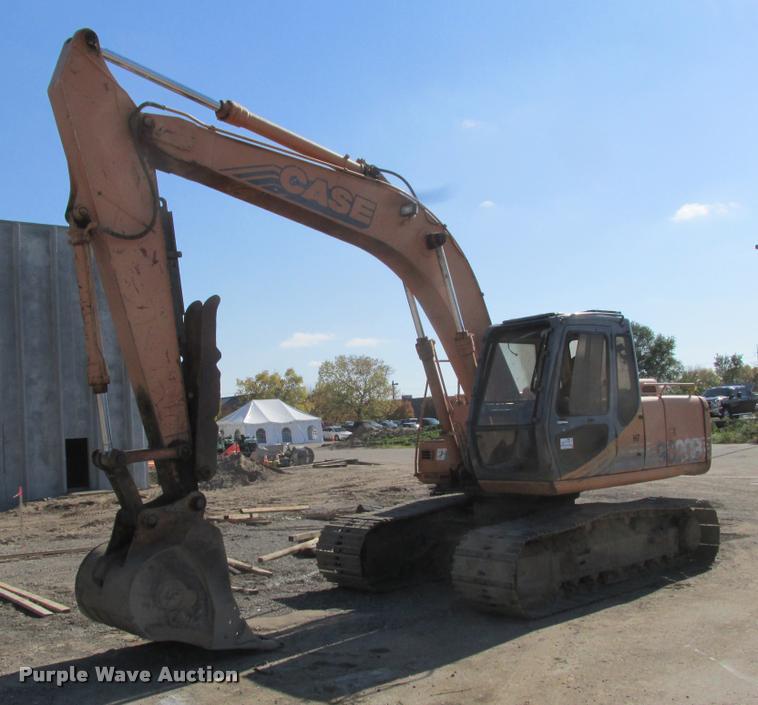 1999 Case 9020B excavator