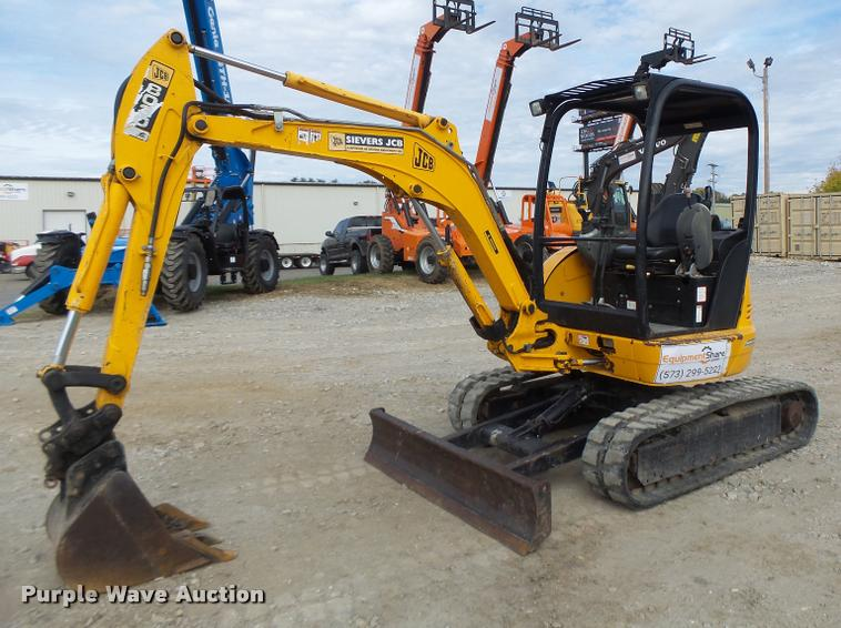 2007 JCB 8030 mini excavator