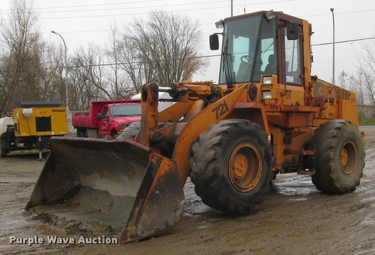 1990 Case 721 wheel loader