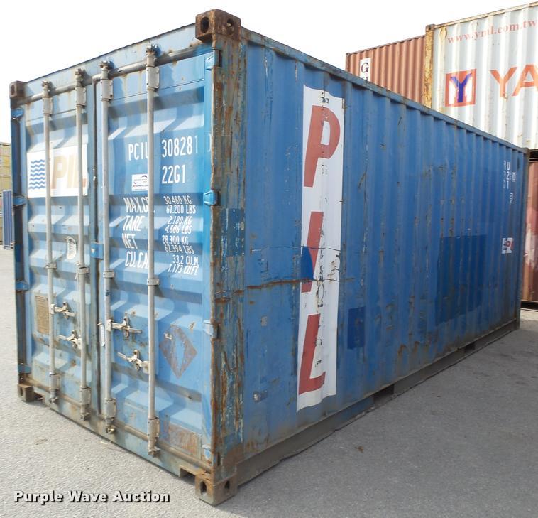 2003 APL storage container