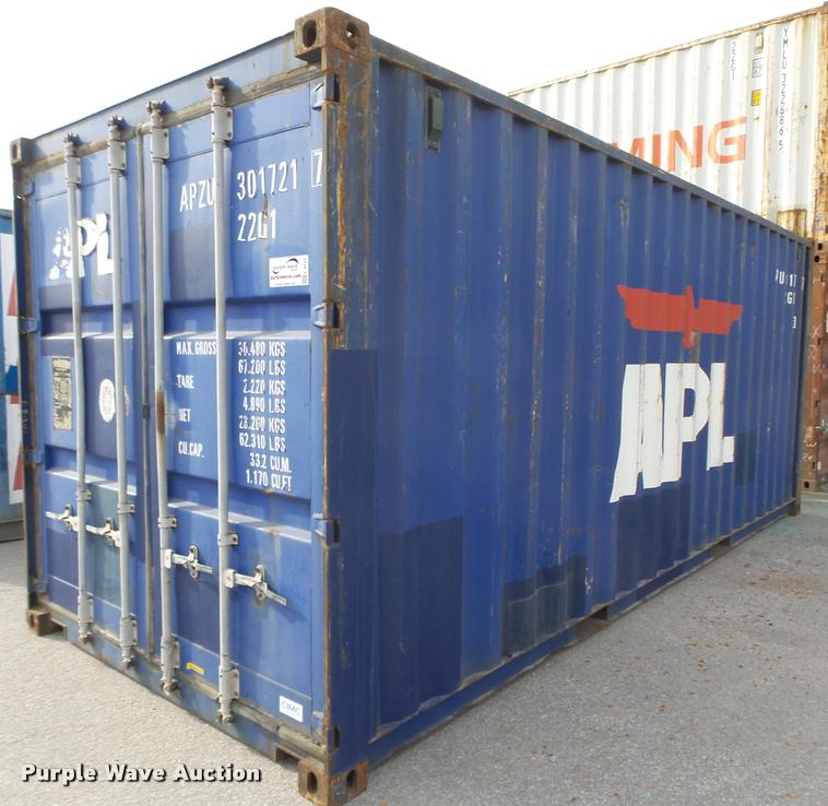 2004 APL storage container
