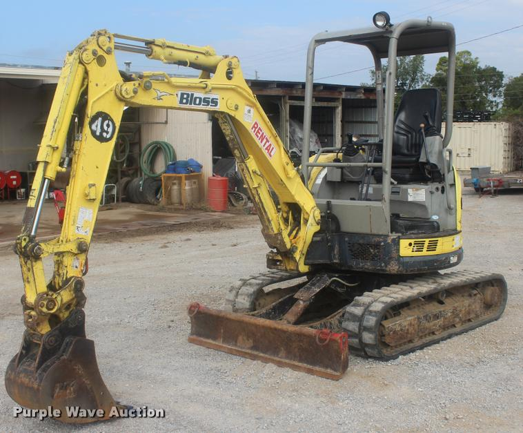 2008 Yanmar VIO27-5 mini excavator