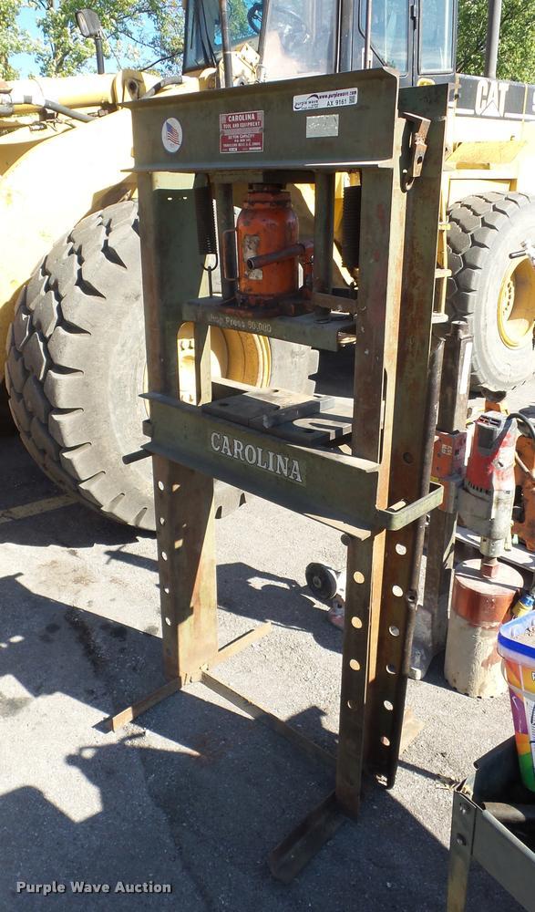 Carolina Tool and Equipment shop press
