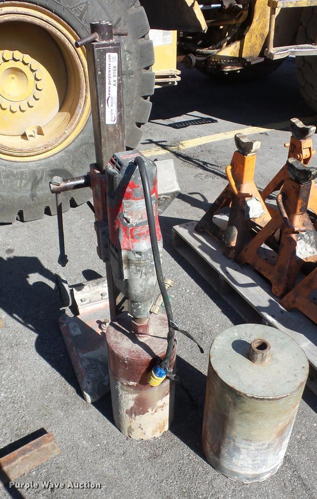 Milwaukee core drill