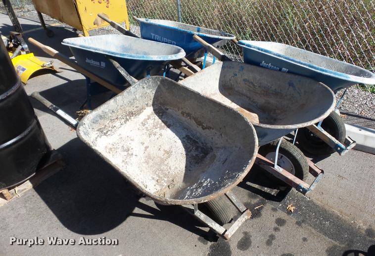 (5) wheelbarrows