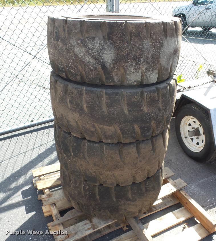 (11) skid steer tires and wheels