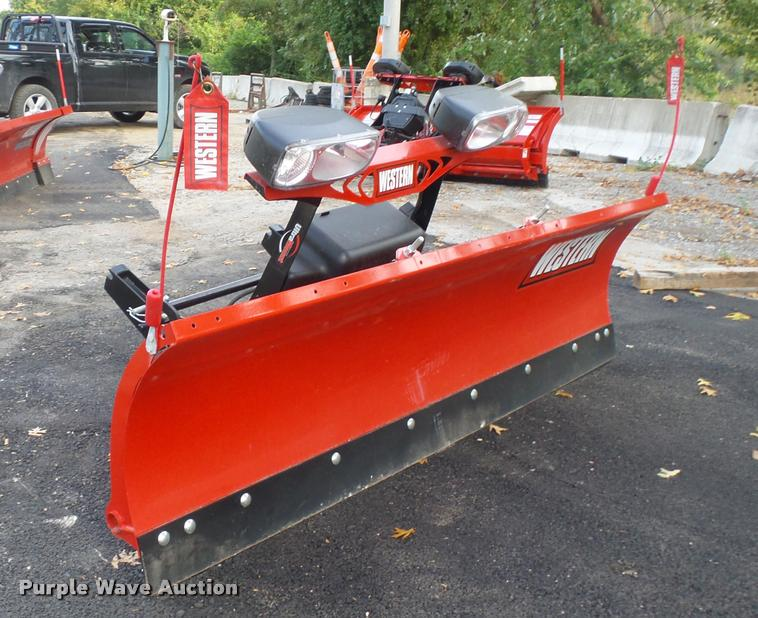 Western HTS snow plow