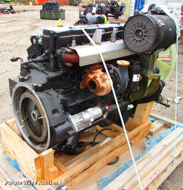 Cummins QSB56.7 six cylinder diesel engine