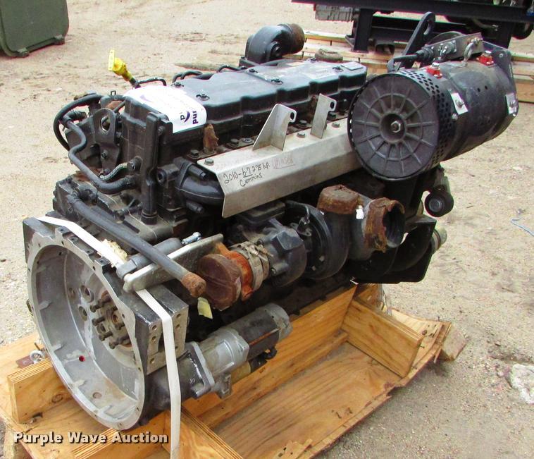 Cummins six cylinder diesel engine