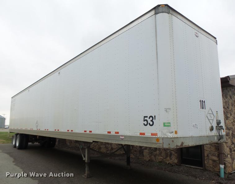 2003 Lufkin TFV-CLST dry van trailer
