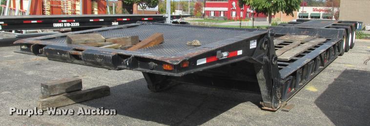 1970 Load King equipment trailer