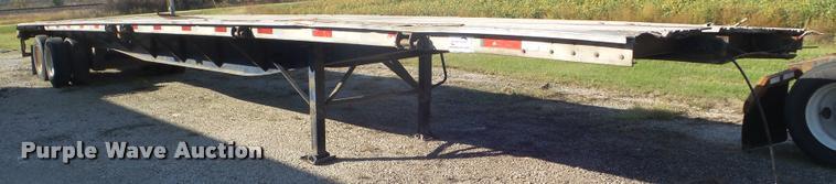 1999 Nu Van flatbed trailer