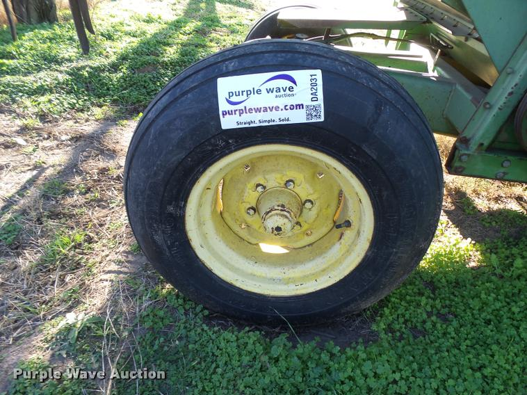 (2) 11L-16 combine tires and wheels