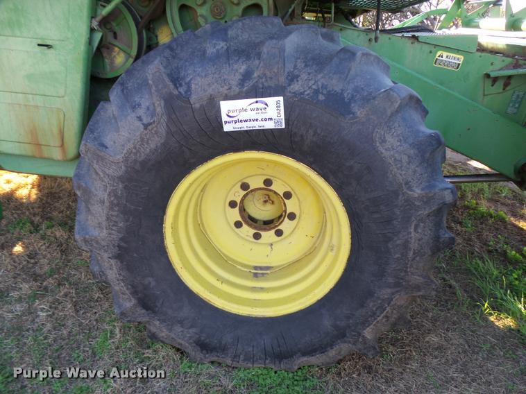 (2) 23.1-26 combine tires and wheels