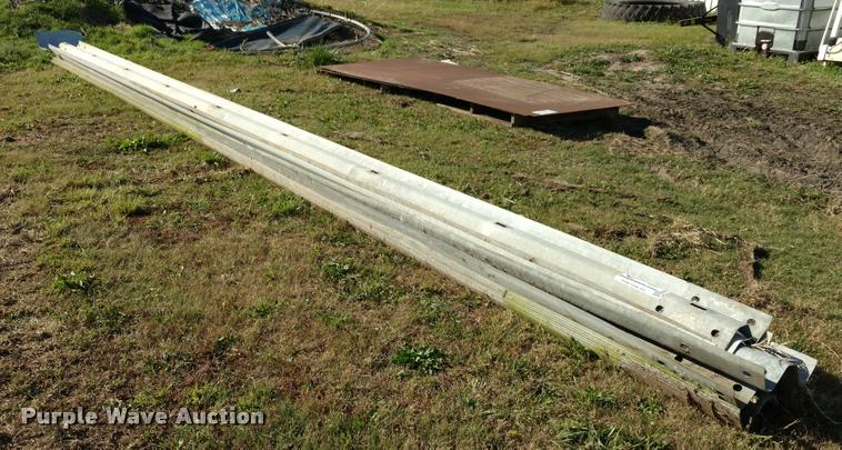 (10) pieces of guard rail