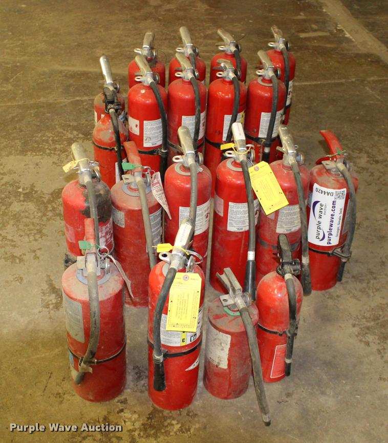 (20) dry chemical fire extinguishers