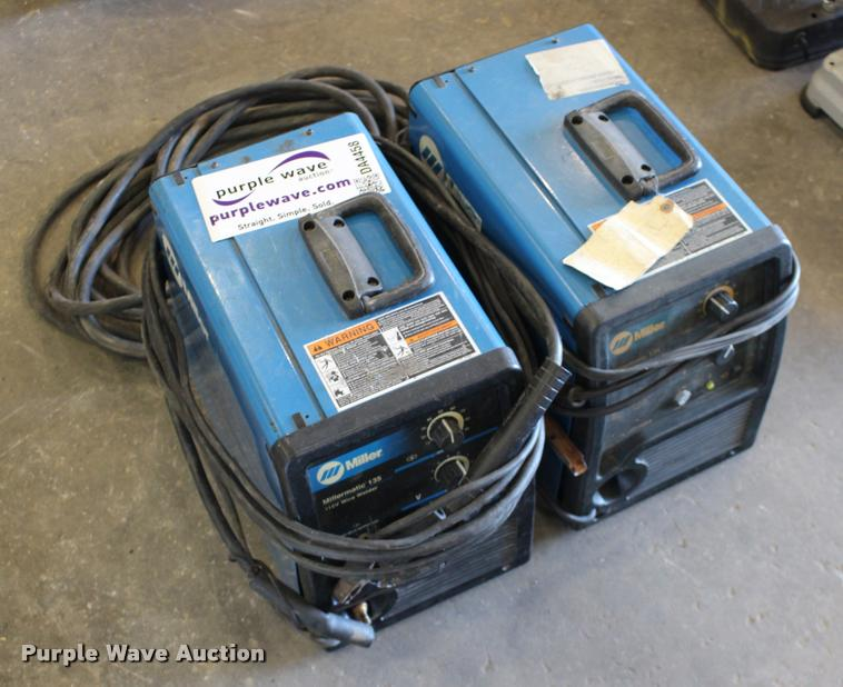 (2) Miller Millermatic 135 wire feed welders