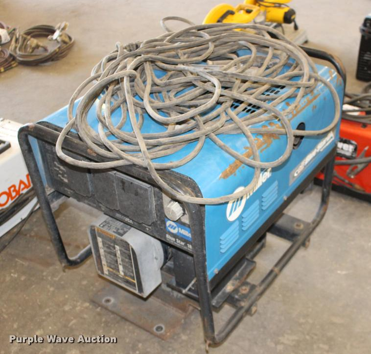 Miller Blue Star DX185 welder/generator