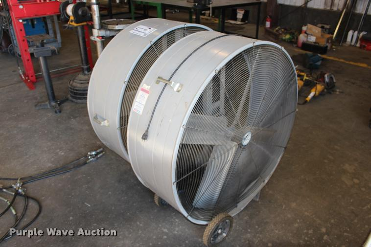 (2) Maxxair BF42DB shop fans