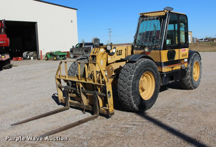 Caterpillar TH82 telehandler
