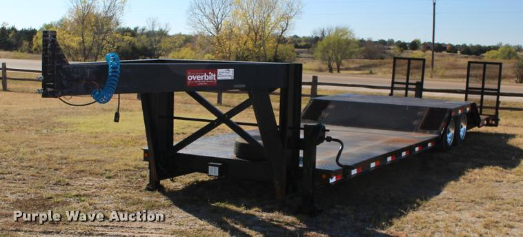 2008 Overbilt step deck trailer