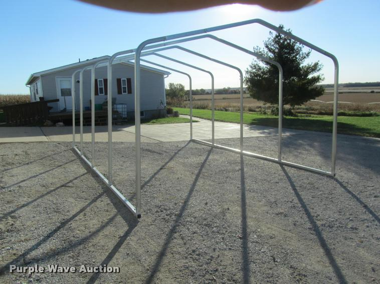 (4) carport frame kits