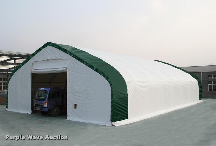 40' x 80' x 23' double truss storage building