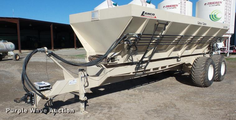 2012 Lanco LS5330 manure/lime spreader