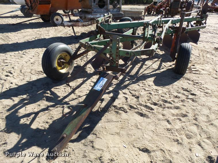 John Deere A3100 six bottom plow