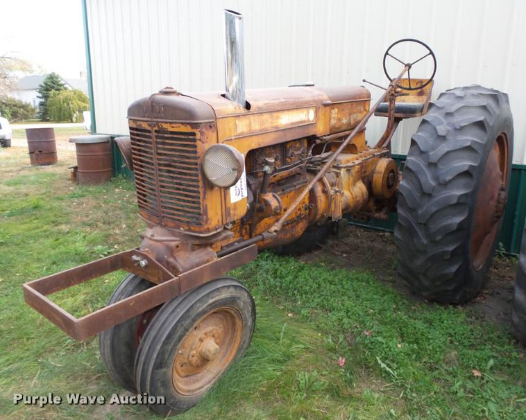 Minneapolis Moline 7 tractor