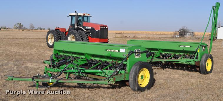 (2) John Deere 450 grain drills