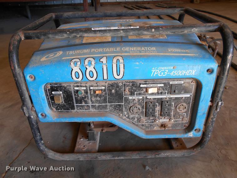 Tsurumi 8810 generator