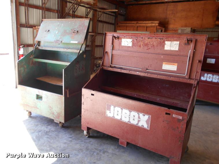 (2) jobsite toolboxes