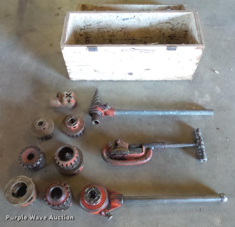 Ridgid pipe tools