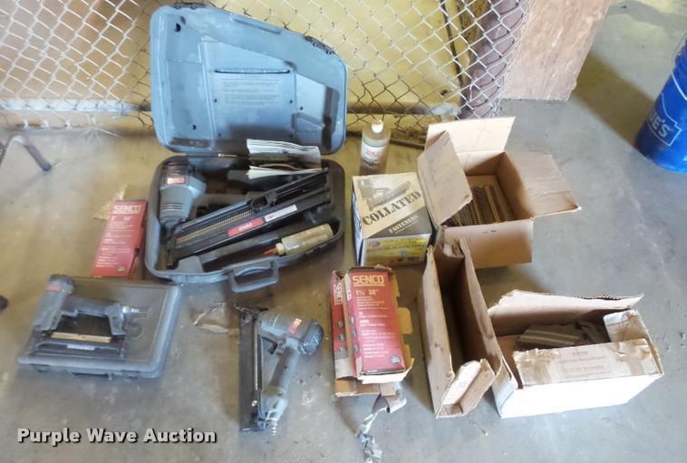 (3) Senco nail guns