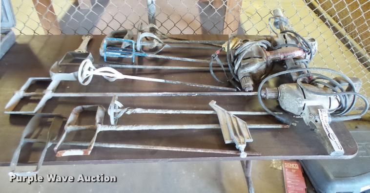 (3) spade handle drills