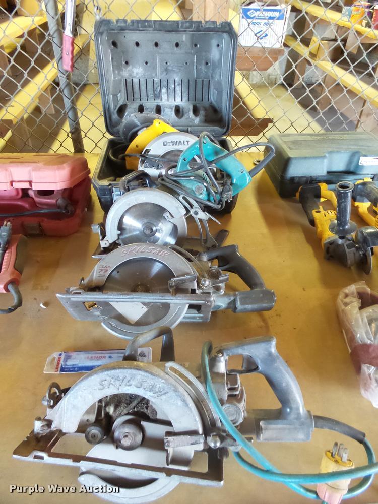 (4) circular saws