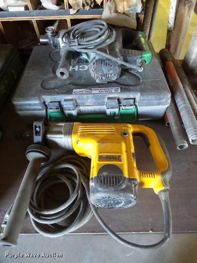 (2) rotary hammers