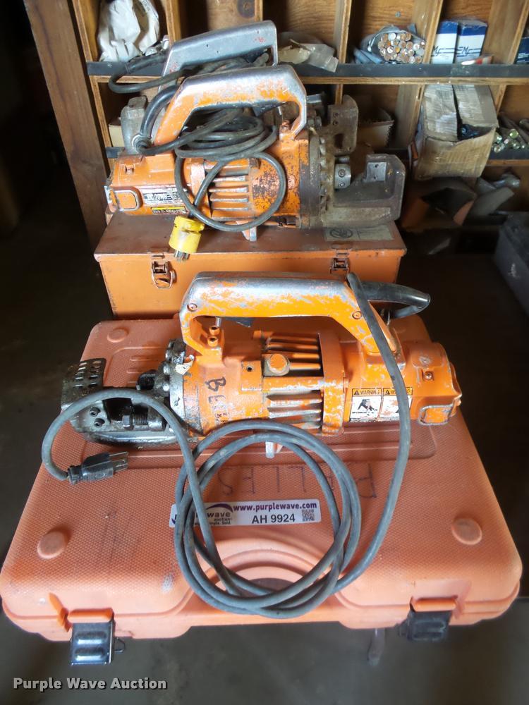 (2) rebar cutters