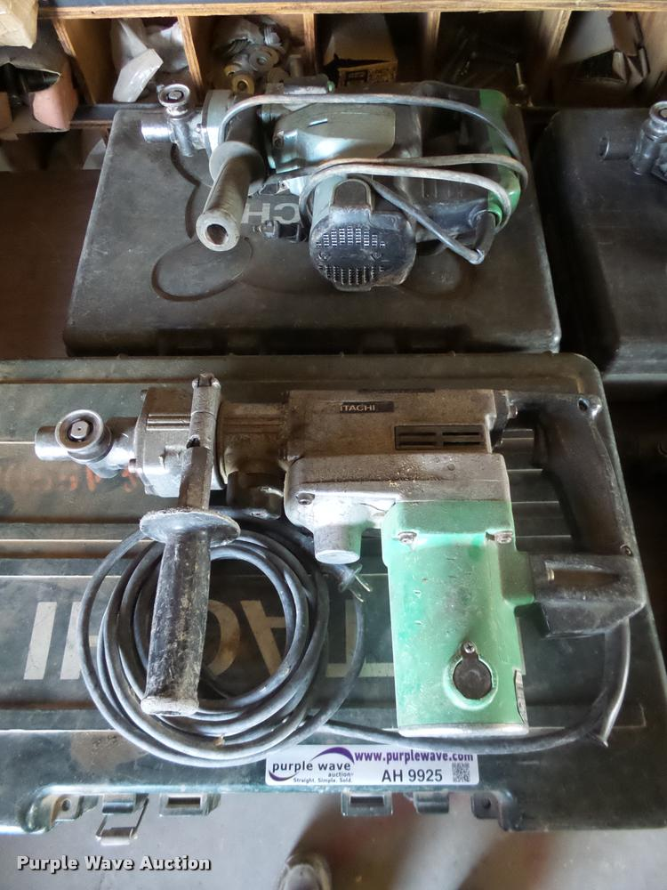 (2) Hitachi rotary hammers