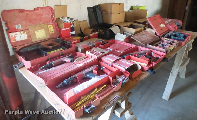 Powder actuated tools and supplies