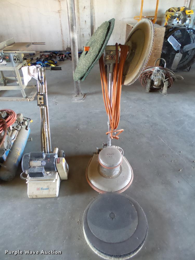 (2) Surface prep machines