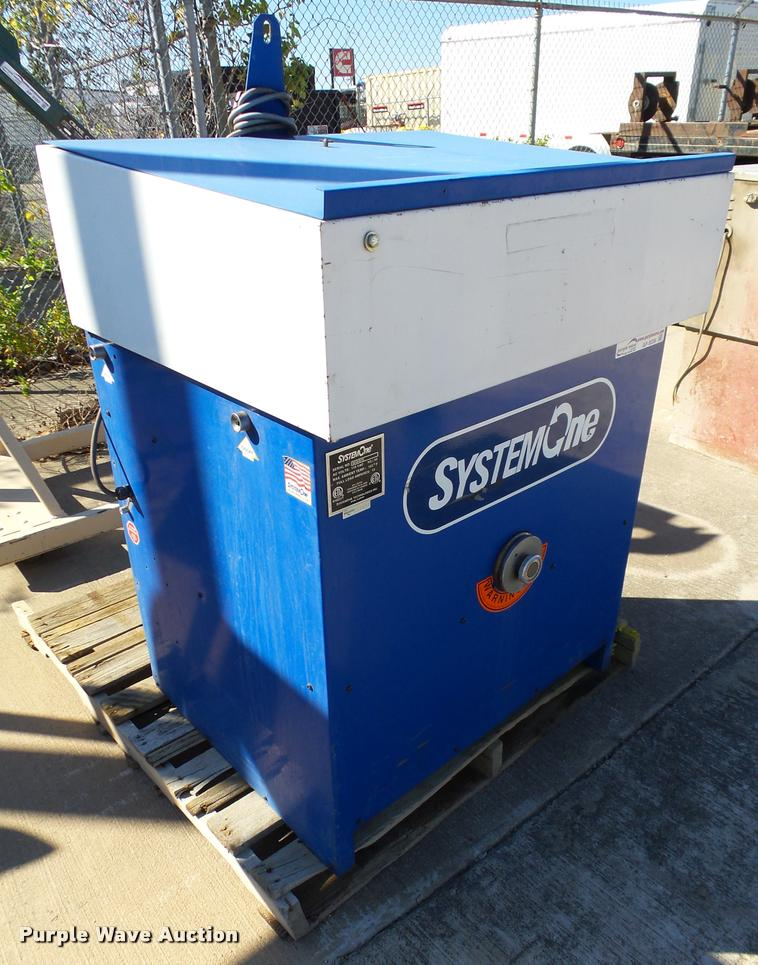System One parts washer