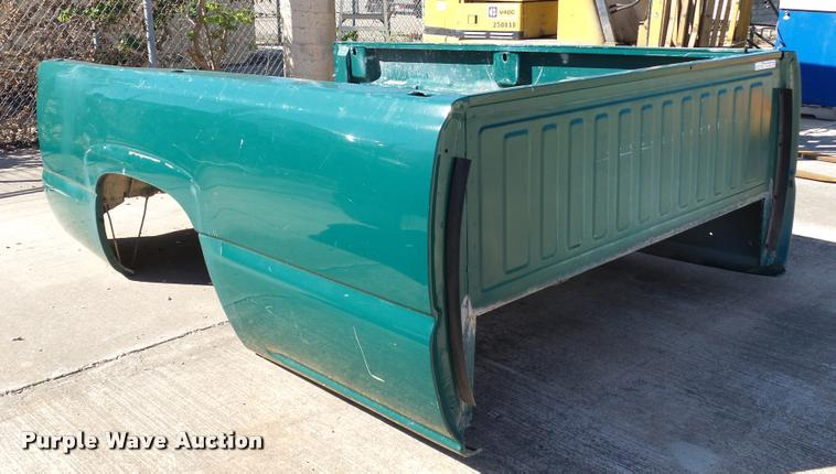 Chevrolet pickup truck bed