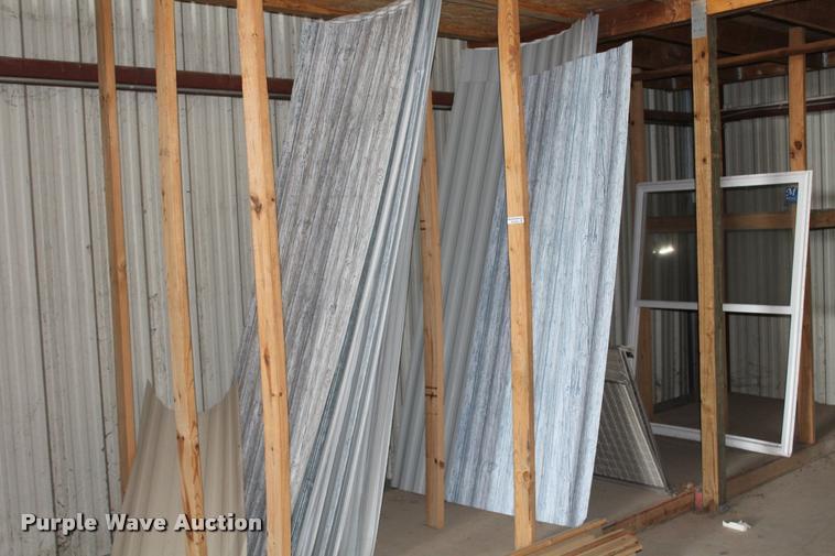 (62) exterior siding panels